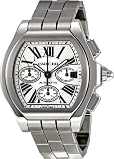0d8ea50fae6 Cartier Men s W6206019 Roadster Silver Dial Watch