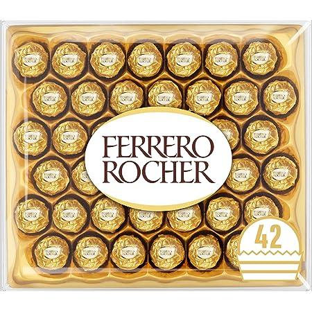 Ferrero Rocher Chocolate Gift Box, 42 Chocolates