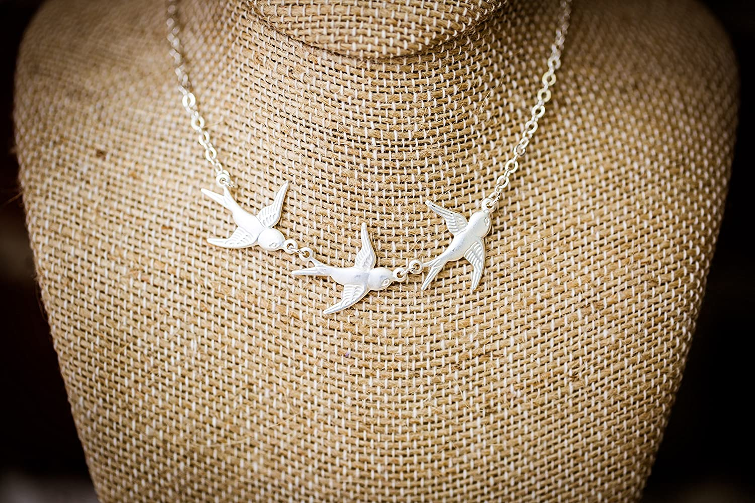 The Gifts Birdie Necklace Sale