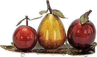Deco 79 68134 Metal Fruit Decor, 9