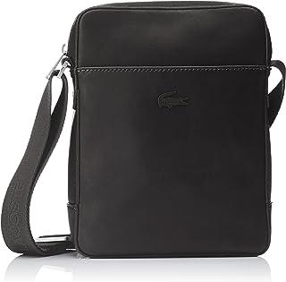 Lacoste Men's Full Ace Vert Camera Bag, Black, One Size