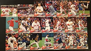 2018 Topps Series 1 & 2 Boston Red Sox Team Set - 21 Cards Including - Rafael Devers RC, Kimbrel, Andrew Benintendi, Xander Bogaerts, David Price, , Mitch Moreland, Mookie Betts, Chris Sale, and many more.