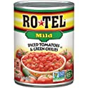 ROTEL Mild Diced Tomatoes & Green Chilies, 10 Ounce