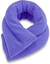Microwavable Neck Heating Wrap by Sunny Bay - Bean Bag Heat Pad for Neck Pain Relief, Microwave, Hot & Cold Therapy, Extra Long Shoulder Heat Pack, Back Pain Relief, Sky Blue
