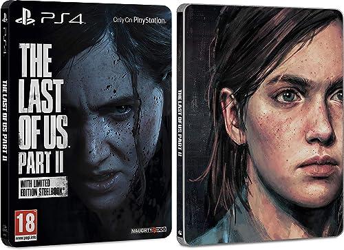 The Last of Us Part II avec un Steelbook en édition limitée sur PS4, Exclusivité Amazon, Version physique, VF, 1 joueur