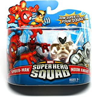 Hasbro Marvel Super Hero Squad - Spider-Man and Moon Knight