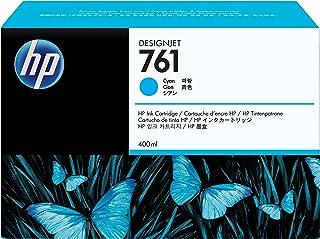 HP 761 original cartouche d encre cyan capacité standard 400ml pack de 1