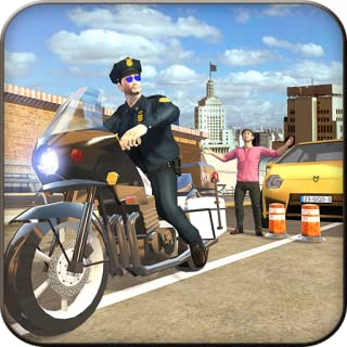 Motorbike Gangster Escape Revenge Adventure Simulator: Extreme Traffic Police Bike Cops Vs Robbers Chase Mission 3D Game Free For Kids
