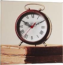 Clock Art Decorative Canvas Wall Clock-28x38 cm