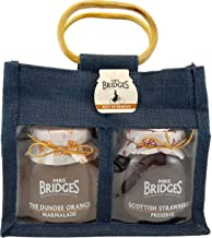Mrs Bridges Best of Bridges Gift Bag, Dundee Marmalade, Scottish Strawberry, 12 Ounce (Pack of 2)