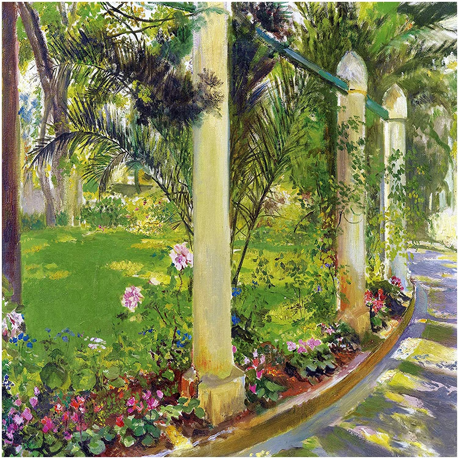 The Path of cheap Noria by T Rochegrosse Flowers Palms Georges-Antoine Phoenix Mall