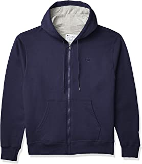 Champion Men's Powerblend Fleece Full-Zip Hoodie