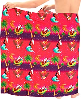 LA LEELA Women Tunic Caftan Kimono Midi Lounge Nightwear Cover Up Kaftan B