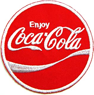 Enjoy Coca Cola Coke Soft Drink Logo Jacket T-shirt Patch Sew Iron on Embroidered Sign Badge Costume Clothing