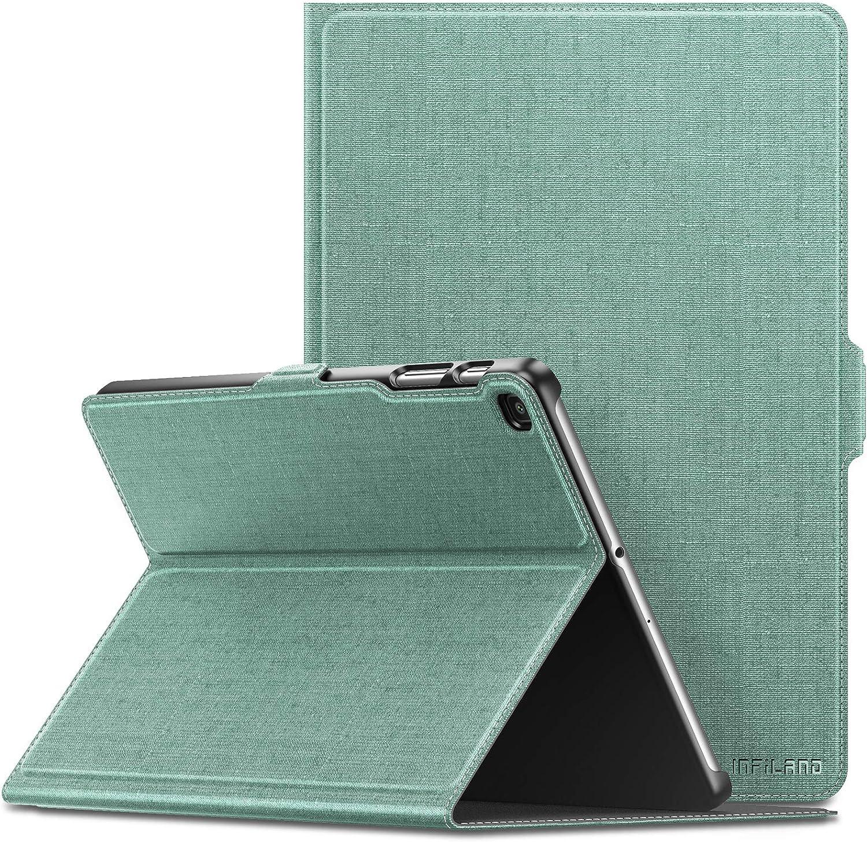 Seasonal Wrap Introduction Infiland Bargain Samsung Galaxy Tab A 10.1 Sta Multiple Angle Case 2019
