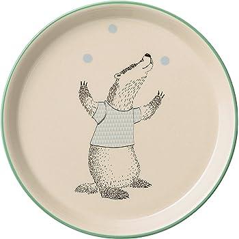 Bloomingville Nude Ceramic Mollie Cup with Rabbit Multicolor
