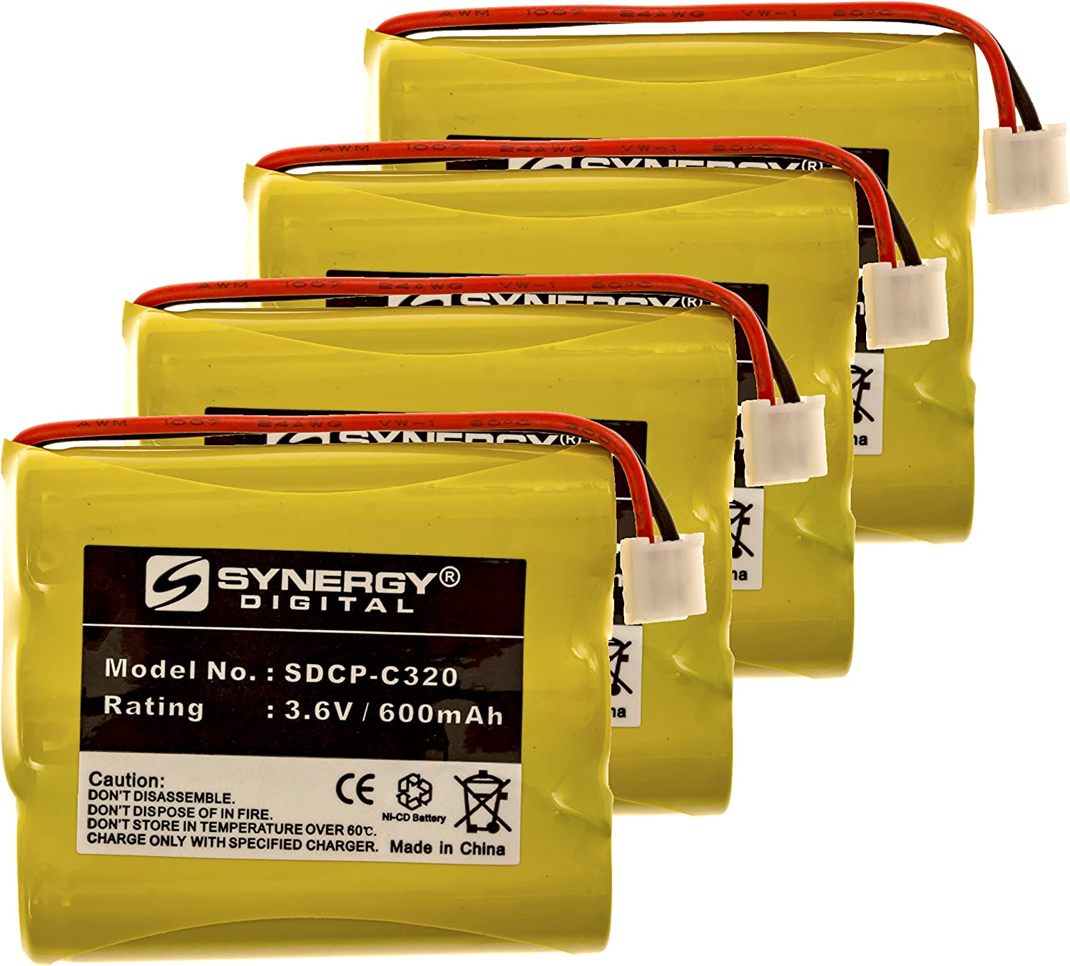 GE 29740 Atlanta Mall Cordless Phone Bargain Battery Includes: SDCP-C3 Combo-Pack 4 x