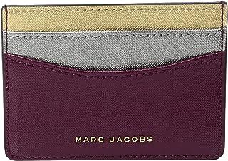 [マークジェイコブス] Marc Jacobs レディース Saffiano Tricolor Card Case ウォレット Berry [並行輸入品]