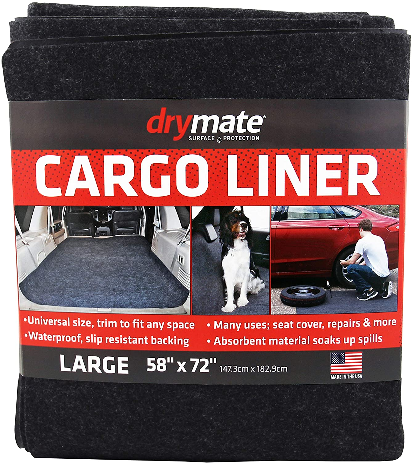 """Drymate Cargo Liner Mat 58"""" Trunk NEW before selling Nashville-Davidson Mall Cover 72"""" x Seat"""