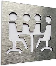 Indoor /& Outdoor sign for business Aluminium Office room sign for doors and wall Office sign Staff only door plaque Segno della stanza dellufficio per le porte e la parete