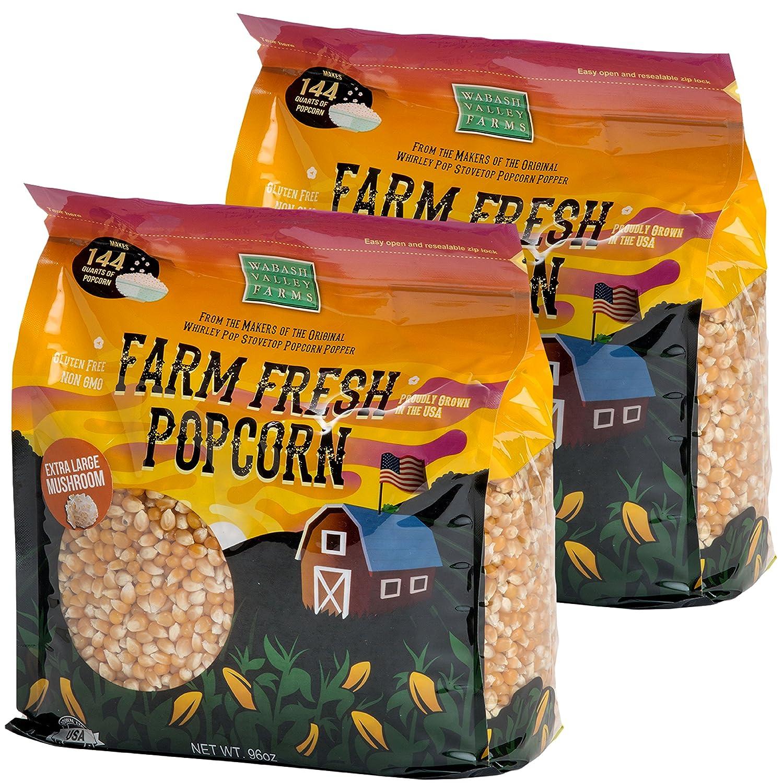 Wabash Valley Free shipping Farms Popcorn Kernels shop - Mushroom Extra l 6 Large