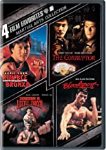 4 Film Favorites: Martial Arts (Bloodsport / The Corruptor / Rumble In The Bronx / Showdown in Little Tokyo)