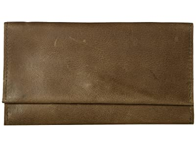ABLE Debre Wallet (Olive) Wallet Handbags