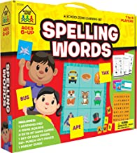 School Zone - Spelling Words Learning Set, Ages 6 and Up, Spelling, Practice Testing, and More
