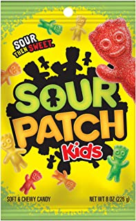 Sour Patch Soft and Chewy Candy, 8 Ounce Packet