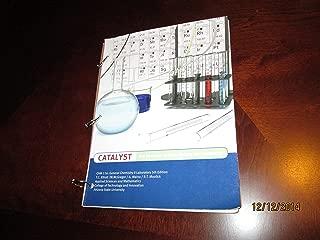 Catalyst: The Pearson Custom Library for Chemistry Arizona State University