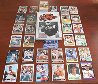 Baltimore Orioles Baseball Lot with Earl Weaver Earl of Balmore Book and 150+ Baseball Cards Jim Palmer Eddie Murray Cal Ripken and Many High Grade Curt Schilling Rookie Cards