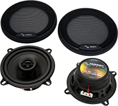 """Harmony Audio HA-R5 Car Stereo Rhythm Series 5.25"""" Replacement 225W Speakers & Grills photo"""