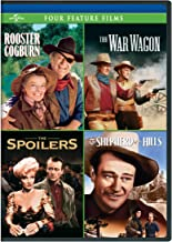 Four Feature Films: (Rooster Cogburn / The War Wagon / The Spoilers / Shepherd of the Hills)