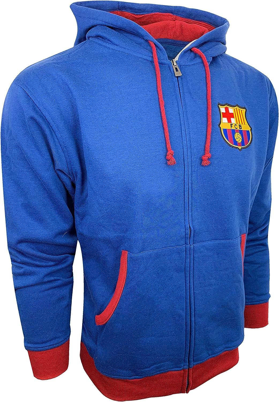 Fc Barcelona Soccer Zip Front NE Fleece Hoodie Ranking TOP9 Jacket Sweatshirt Finally resale start