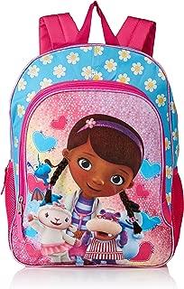 Girls' Doc McStuffins Backpack, Light Blue/Pink