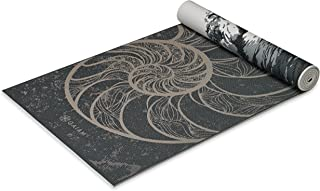 Gaiam Yoga Mat - Premium 6mm Print Reversible Extra Thick...