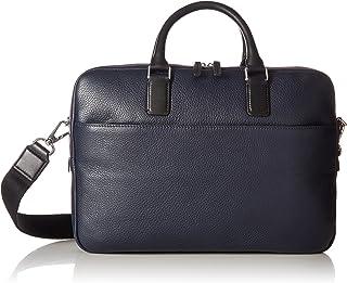 ECCO Jos Laptop Bag 13inch, Bolsas para portátil Hombre, Blau (Navy), 7x27x37 cm (W x H D)