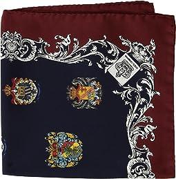 Dolce & Gabbana - Heraldic Sicily Pocket Square