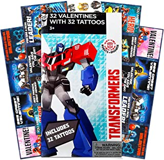Transformers 32 Valentines With 32 Tattoos