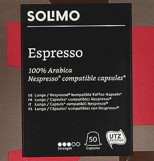 comprar comparacion Espresso Nespresso, 100% Arabica, 50 Cápsulas Compatibles Largas