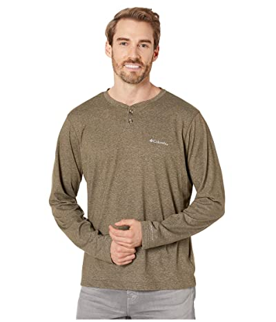 Columbia Thistletown Parktm Henley (Olive Green Heather) Men