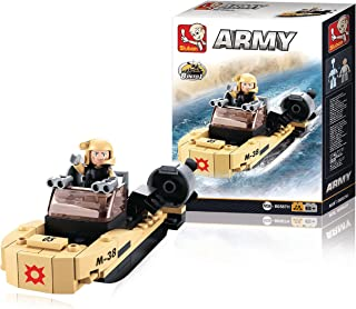 Sluban Army Assault Boat - M38 - 0587H