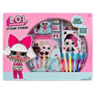 L.O.L. Surprise! Stylin' Studio by Horizon Group Usa, Create LOL Surprise Paper Dolls, DIY...
