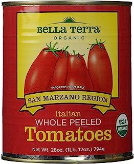 Bella Terra San Marzano Region Whole Peeled Tomatoes, 28 oz