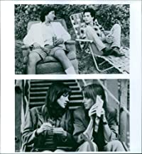 Vintage photo of A scene from a 1988 Permanent Record (film) featuring Keanu Reeves, Alan Boyce, Pamela Gidley and Jennifer Rubin.