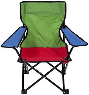 Pacific Play Tents Tri-Color Kids Super Duper Folding Chair (56134)