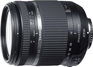 Tamron AF 18-270mm F/3.5–6.3Di II VC PZD - Objetivo para cámara Canon (Distancia Focal 18-270 mm Apertura f/3.5-6.3 estabilizador óptico) Color Negro