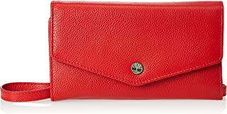 Timberland womens RFID Leather Crossbody Wallet Phone Bag With Detachable Crossbody Strap Cross Body
