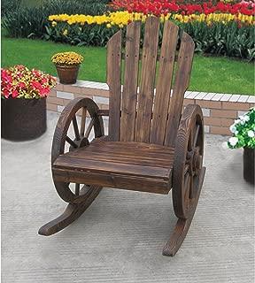 Kotulas Wagon Wheel Rocker Chair