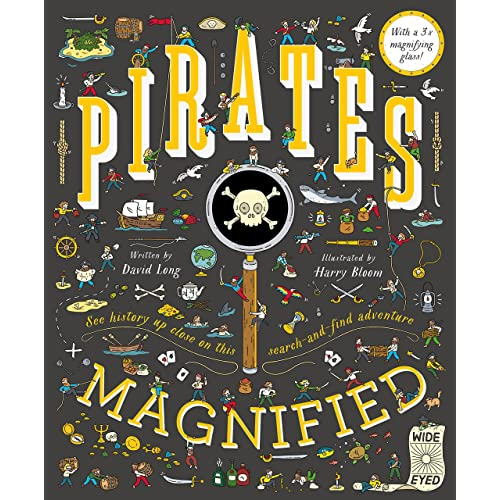 Pirates Magnified: With a 3x Magnifying Glass: 1